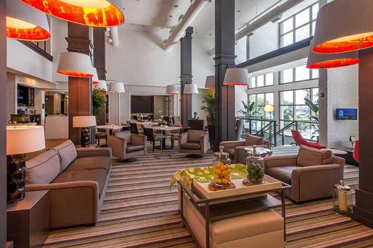 Hilton Garden Inn, Charleston, SC - designed by J Banks Design