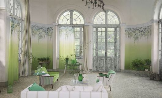 bring a beautiful hanging garden inside with the Designers Guild  Shanghai Garden fabrics