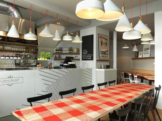 La Petite Bretagne restaurant by Paul Crofts Studio, London