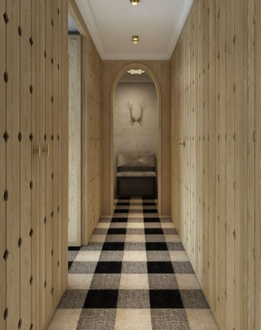 gingham carpet