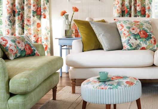 Sanderson resurrected favourite patterns from the early to mid-20th century