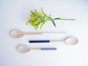 dip dye spoons